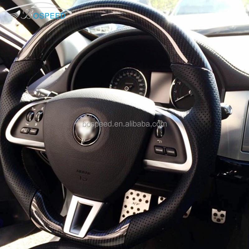 Used Jaguar F Type: Carbon Fiber Steering Wheel For Jaguar Xk Xf F-type S-type