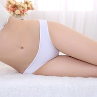 Hot-selling Plus Size Transparent Lace Lady Panty Seamless Underwear Sexy Girl Briefs Girl Underwear Panty Models