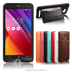 Back cover wih card slot with stand for ASUS ZenFone 2 Laser ZE550KL mobile phone case 5.5 inch 100% Reliable Aibaba Supplier