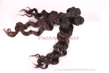 unprocessed Guangzhou Factory loose wave hair hair extension
