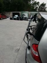 carbon steel trunk bike rack