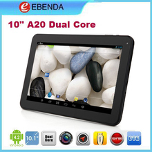 Android tablet A20 dual core 10 inch high quality good gift in 2014