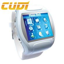 Flat screen design ladies mobile watch phones wholesale