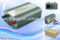 Digital 500W 12V dc 220V ac pure sine wave converter inverter for solar panel & solar home system