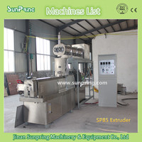 500kg per hour SP85 CE floating fish feed pellet machine/floating fish feed extruder machine/floating fish food
