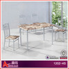1202-4S 2015 hot sale furniture for wooden dining table set