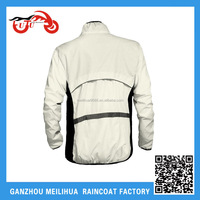 White color Unexpensive polyester factory direct wholesale outdoor fashion jacket for men