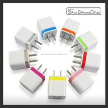 Universal 2.1A US Dual USB Wall Charger Plug 2 port for IPAD mini air Ipod iphone 4 4s 5 5s 5v