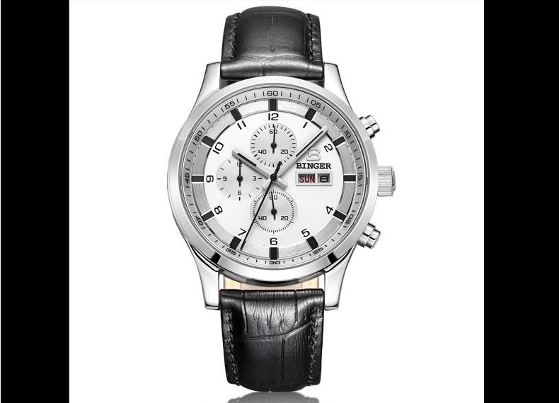 Последним Хорошее Качество Цифровые Часы Кварцевые Водонепроницаемые Спортивные Часы Хронограф Многофункциональный Наручные Часы Бингер Мужчины Подарки