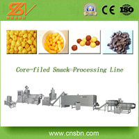 Alibaba china supplier 250-600kg/h Capacity Indonesia snacks processing plant