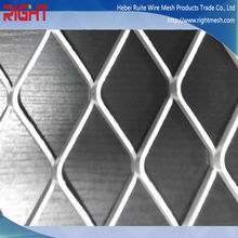 galvanized expanded hexagonal metal mesh/aluminum expanded metal sheet