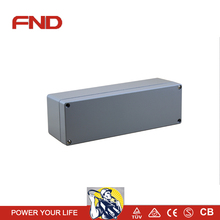 NEW die casting aluminum junction box for electrical industry 250*80*80