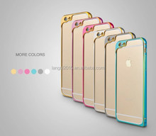 new design Aluminum metal bumper bling Cell Phone Case for iphone 6