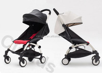 european style new design Safety Folded Luxury Baby Strollers , Light Weight Child Buggy Carrier EN1888