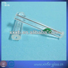 tubo capilar de vidrio delgado de pequeño diámetro