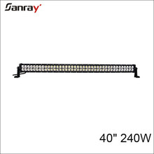 40 inch Offroad Double Row led light bar 240W led light bar 12V
