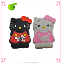 wholesale loverly cartoon silicone 3d phone case
