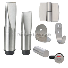 Cheap price bathroom accessories sets,stainless steel toilet partition hardware