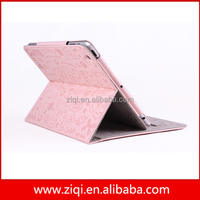 Premium PU leather cover case for ipad mini mini2 support stand