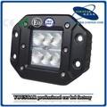 12 volt novo 18w açoinoxidável trator led farol, ip67 impermeável led trabalho da lâmpada