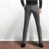 2015 slim fit business cotton casual pants professional manufacturer trousers