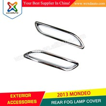 Chrome Rear Tail Fog Light Lamp Cover Trim for MONDEO FUSION 2013 2014 2015