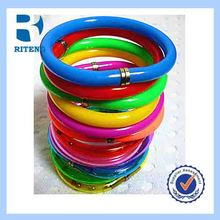 new design pvc new transparent bracelet pen