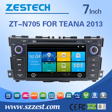 touch screen for Nissan teana auto parts with steering wheel control rear view camera bluetooth 3G radio quality