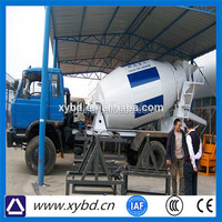 low price truck mounted small self loading concrete mixer truck for sale