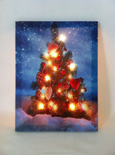 CE Certified 2015 lastest painting trees on walls with led light for holiday gift cheap china wholesale
