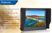 Amazing 5'' On-Camera Field Portable HD Monitor FM502-HDO