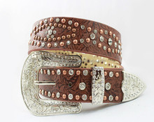 2015 Hotsale china supplier western rhinestone belts+email with high quality