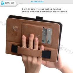 Wonderful leather case for ipad mini 3, multi-angle stand case
