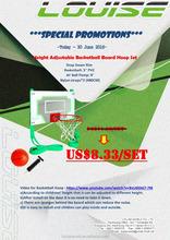 ball pump, hurdle, mini basketball hoop, training equipment