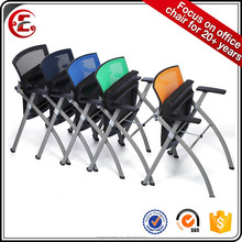 folding low price office chair foldable conference chair 300lb
