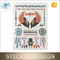 Promotional custom dreamcatcher tattoo sticker
