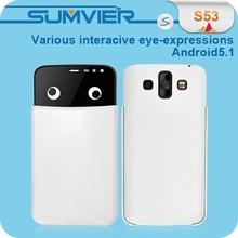 "Foxconn Model 3G 5"" MTK6580 HD IPS Screen Custom Android 5.1 Smartphone"