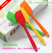 One-piece silicone spatula Silicone spatula Silicone spatula one seamless high temperature food grade trumpet