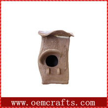 Simple handmade popular Wooden decorated bird house