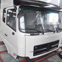Dongfeng Kinland DFL4251A9 truck cabin parts white driving cab 5000012-C03A0-02