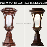 decorative garden lamp post/solar lamp post