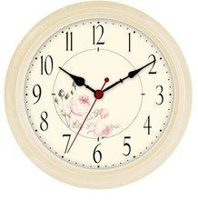 modern design wall clock plastic