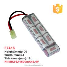 F8A15 NiMH 2/3A 9.6V 1500mAh RC Car Battery Pack