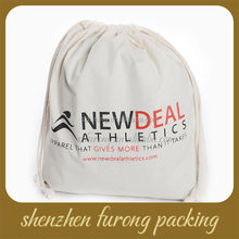 dry cleaning cotton drawstring canvas hotel laundry bag
