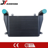 Aluminium universal fin and plate of intercooler for car