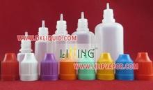 Fácil añadiendo 2 - 600 ml botellas de plástico pet con tapa a prueba de niños para aceite esencial