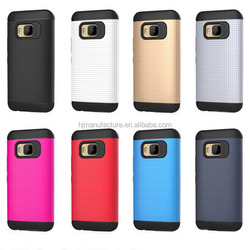 Impact Resistant Hybrid Dual Layer Armor Defender Protective Case Cover for HTC One M9