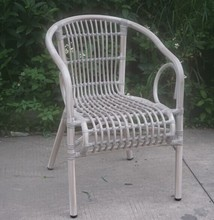 Cheap Outdoor bistro rattan chair french chair relax rattan chair