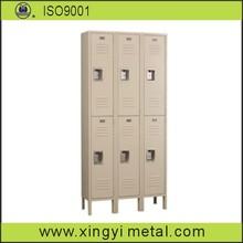 4 door dot vents storage cabinet/metal luggage locker/air vent kd locker