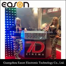 Entertainment Unit 7D Cinema Simulator Motion 7D Cinema For Sale